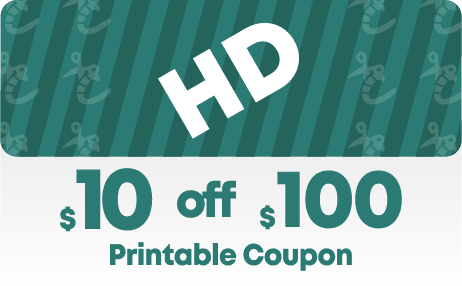 Home Depot $10 off $100 coupon