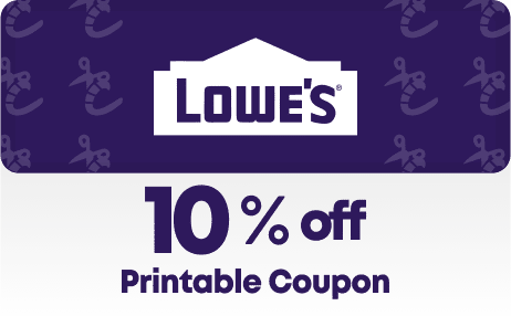 Lowes 10% off Printable Coupon