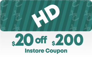 Home Depot $20 off $200 In-Store Coupon