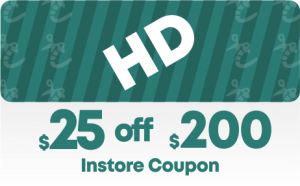 Home Depot $25 off $200 In-Store Coupon